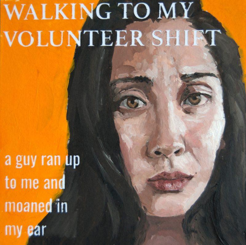 Walking to My Volunteer Shift