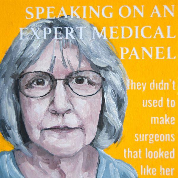 Speaking on an Expert Medical Panel