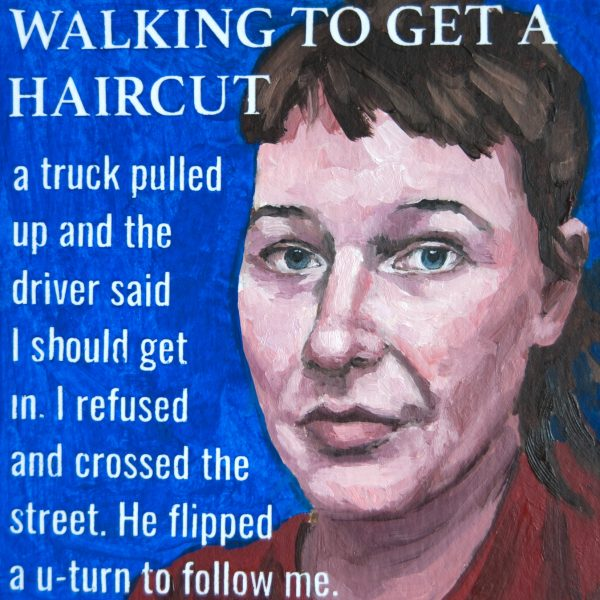 Walking to Get a Haircut