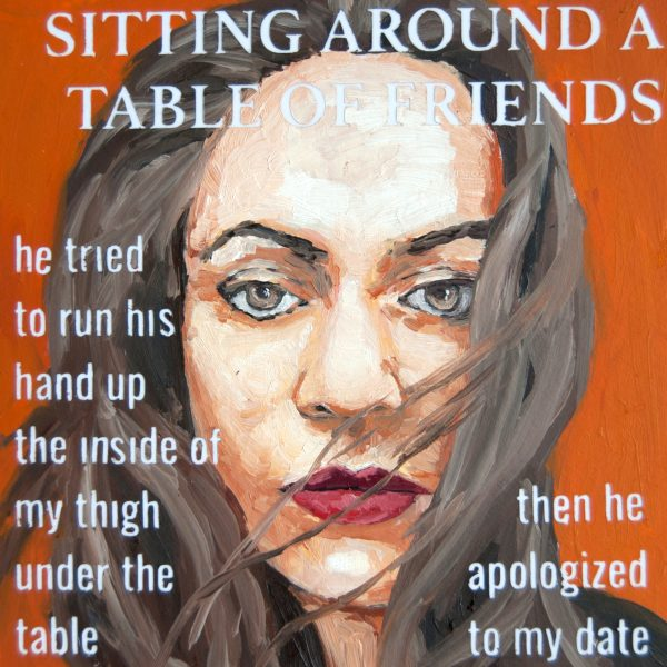 Sitting Around a Table of Friends