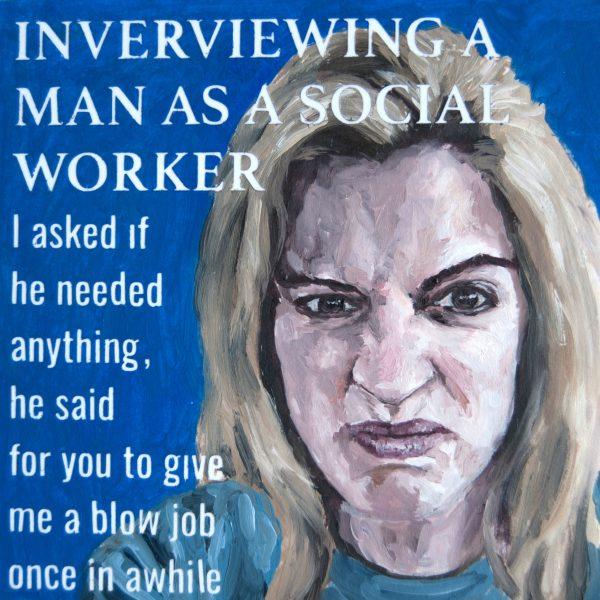 Interviewing a Man as a Social Worker