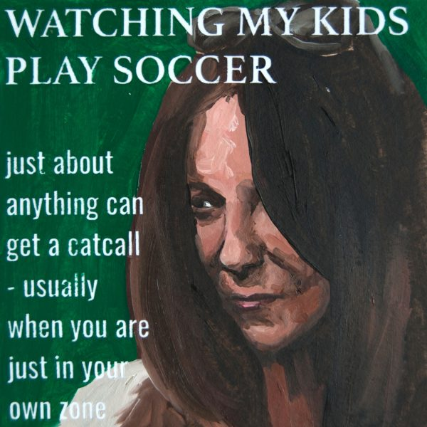 Watching My Kids Play Soccer